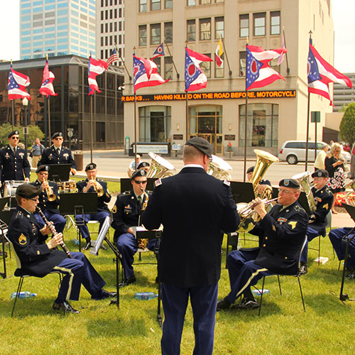 122nd Army Band Ceremonial Band