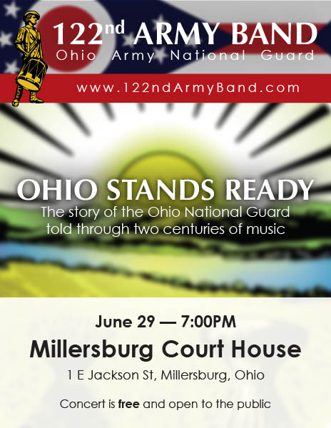 Download the Ohio Stands Ready poster for Millersburg 2017