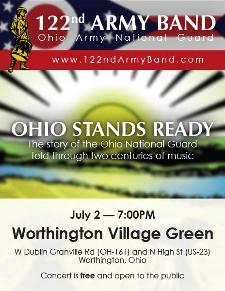 Download the Ohio Stands Ready poster for Worthington 2017